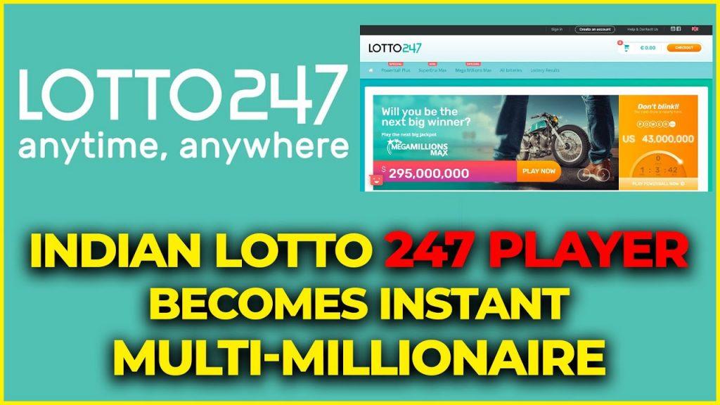 Lotto247 winners in India